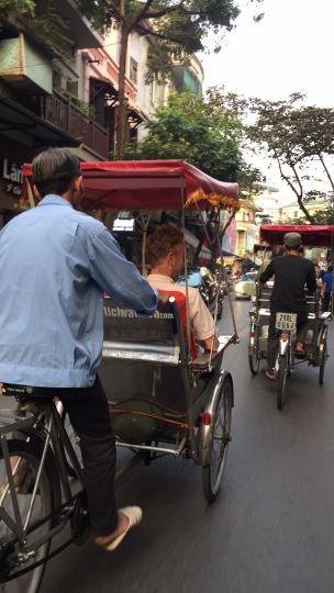 Tuk Tuk to the market