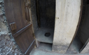 The old bucket toilet system