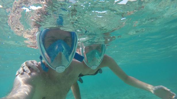 Snorkel duo